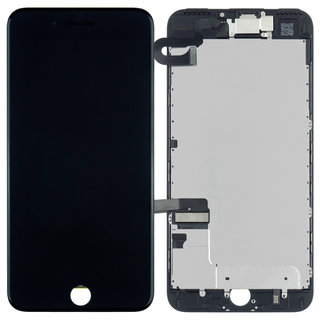 Voorgemonteerd iPhone 7 Plus scherm en LCD (AAA+ kwaliteit) - Zwart
