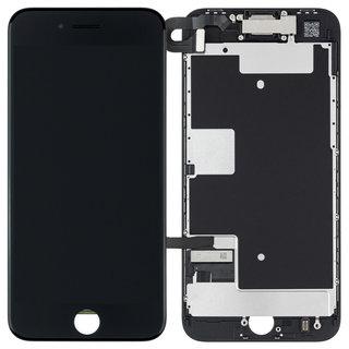Voorgemonteerd iPhone 8 scherm en LCD (AAA+ kwaliteit) - Zwart