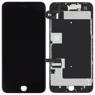 Voorgemonteerd iPhone 8 Plus scherm en LCD (AAA+ kwaliteit) - Zwart