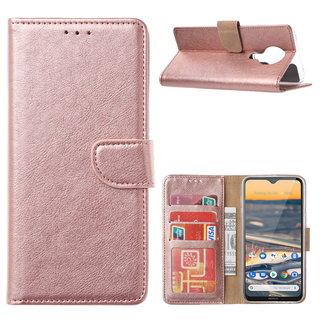 Bookcase Nokia 5.3 hoesje - Rosé Goud
