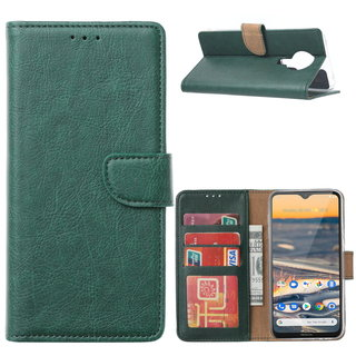 Bookcase Nokia 5.3 hoesje - Smaragdgroen