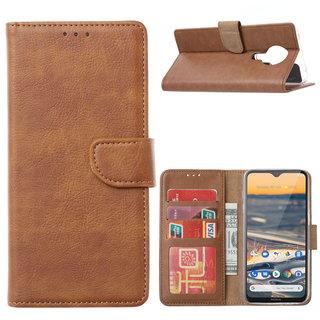 Bookcase Nokia 5.3 hoesje - Bruin