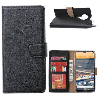 Bookcase Nokia 5.3 hoesje - Zwart