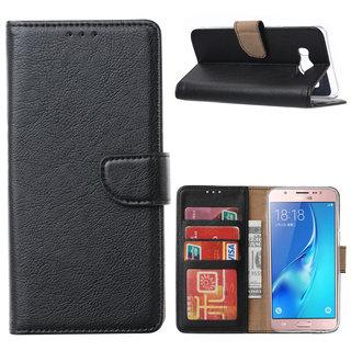 Bookcase Samsung Galaxy J5 (2016) hoesje - Zwart