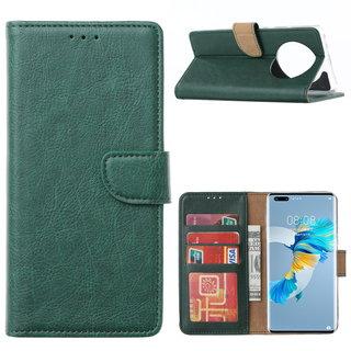 Bookcase Huawei Mate 40 Pro+ hoesje - Smaragdgroen