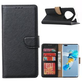 Bookcase Huawei Mate 40 Pro+ hoesje - Zwart