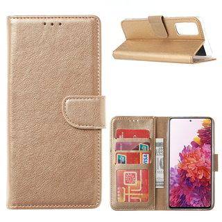 Bookcase Samsung Galaxy S20 FE hoesje - Goud