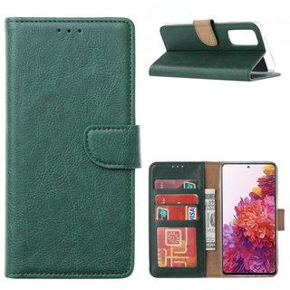 Bookcase Samsung Galaxy S20 FE hoesje - Smaragdgroen