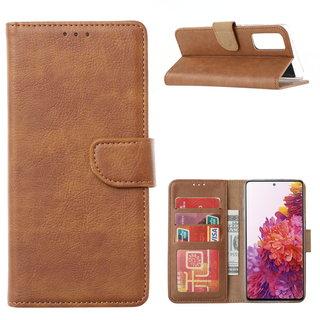 Bookcase Samsung Galaxy S20 FE hoesje - Bruin
