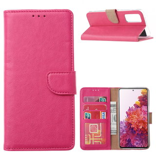 Bookcase Samsung Galaxy S20 FE hoesje - Roze