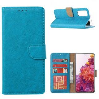 Bookcase Samsung Galaxy S20 FE hoesje - Blauw