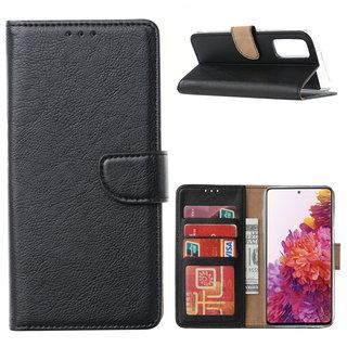 Bookcase Samsung Galaxy S20 FE hoesje - Zwart