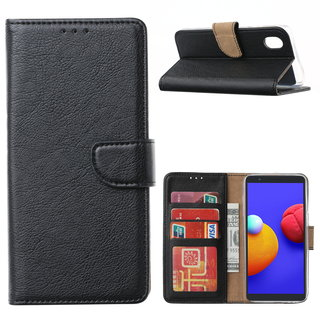 Bookcase Samsung Galaxy A01 Core hoesje - Zwart