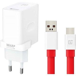 30W Originele Warp Charger 7 Pro / 7T / 7T Pro  Oplader Adapter met 1 meter USB Type-C Warp kabel - 6A
