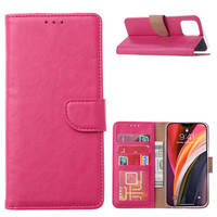Bookcase Apple iPhone 12 Pro Max hoesje - Roze