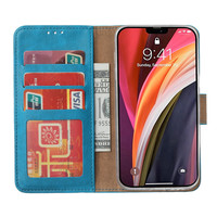 Bookcase Apple iPhone 12 Pro Max hoesje - Blauw