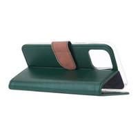 Bookcase Apple iPhone 12 hoesje - Smaragdgroen