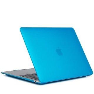 Hardshell Cover Macbook Air 13 inch (2018-2020) A1932/A2179 - Aqua Blauw
