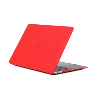 Hardshell Cover Macbook Air 13 inch (2018-2020) A1932/A2179 - Rood