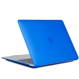 Hardshell Cover Macbook Air 13 inch (2011-2017) A1369/A1466 - Matte Blauw