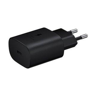 Galaxy Originele Adaptive Super Fast Charging Adapter USB-C / Type-C - Zwart