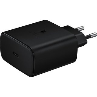 Galaxy Originele Adaptive Super Fast Charging 45W Adapter USB-C / Type-C - Zwart