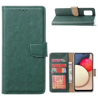 Bookcase Samsung Galaxy A02S hoesje - Smaragdgroen