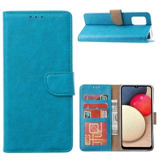Bookcase Samsung Galaxy A02S hoesje - Blauw