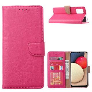 Bookcase Samsung Galaxy A02S hoesje - Roze