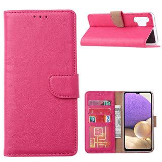 Bookcase Samsung Galaxy A32 hoesje - Roze