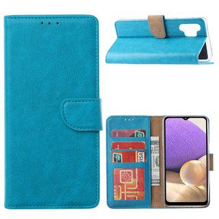 Bookcase Samsung Galaxy A32 hoesje - Blauw