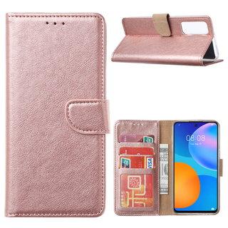 Bookcase Huawei P Smart 2021 hoesje - Rosé Goud
