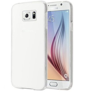 Samsung Galaxy S6 siliconen (gel) achterkant hoesje - Transparant