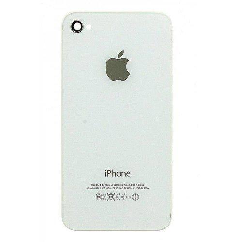 iPhone 4 / 4S Originele Glazen Achterkant - Zwart / Wit