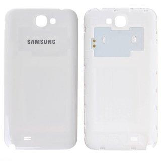Galaxy Note 2 Originele Batterij Cover (Wit/Grijs)