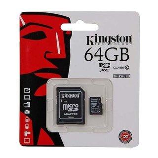 MicroSDXC Class 10 64GB geheugenkaart + adapter