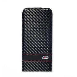 Apple iPhone 6 Carbon-Look Flip Case - Zwart