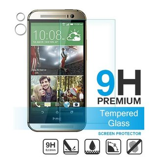 HTC One M8/M8s Screenprotector - Glas