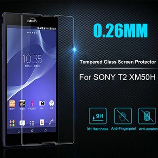 Sony Xperia T2 Ultra Screenprotector - Glas