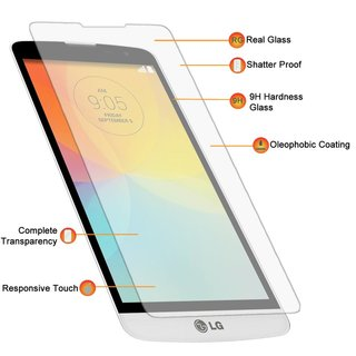 LG L Bello (L80+) Screenprotector - Glas