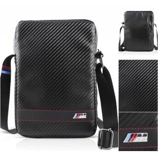 M. Carbon Schoudertas voor alle 9.7, 10.1 inch Tablets - Zwart