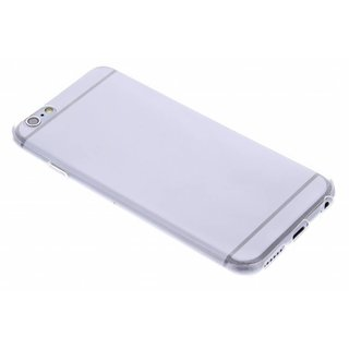 TPU Siliconen hoesje voor de achterkant van de Apple iPhone 6 / 6S - Transparant / Bruin