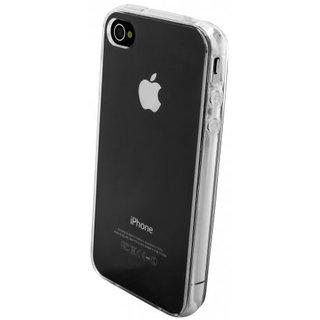 TPU Siliconen hoesje voor de achterkant van de Apple iPhone 4 / 4S - Transparant
