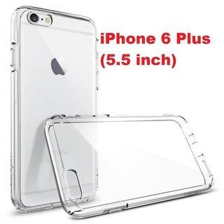 TPU Siliconen hoesje voor de achterkant van de Apple iPhone 6 Plus / 6S Plus - Transparant