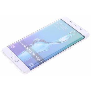 TPU Siliconen hoesje voor de achterkant van de Samsung Galaxy S6 Edge Plus - Transparant / Bruin