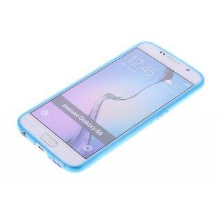 TPU Siliconen hoesje voor de achterkant van de Samsung Galaxy S6 - Transparant / Grijs / Roze / Bruin / Blauw