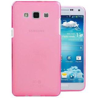 TPU Siliconen hoesje voor de achterkant van de Samsung Galaxy E5 - Roze