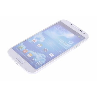 TPU Siliconen hoesje voor de achterkant van de Samsung Galaxy S4 - Transparant