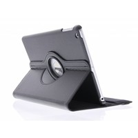 iPad Air 9.7 inch 360° Rotating Case - Roterende Hoes - Zwart / Roze