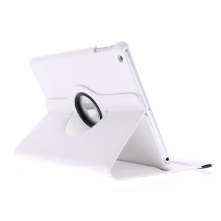 iPad Air 9.7 inch 360° Rotating Case - Roterende Hoes - Wit